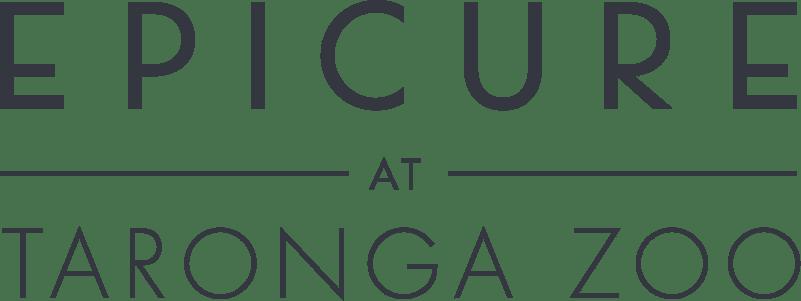 EPICURE At Taronga Zoo Logo